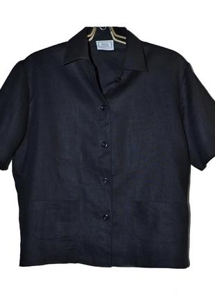 Супер рубаха 100% лен, от sergio cassani, италия