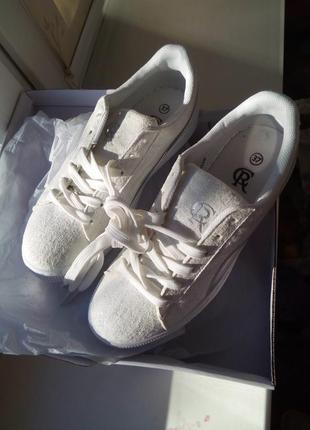 Элегантные кроссы кеды,  размер 37