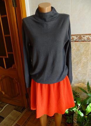 Легкий свитер пуловер marks&spencer размер l