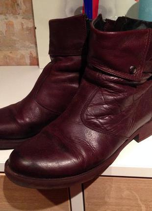 Кожаные ботинки respect