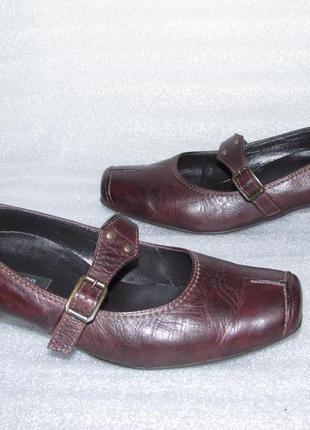 Дорогие качественные кожаные туфли ~ paul green~ германия р 37,5