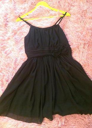Платье коктейльное h&m сарафан