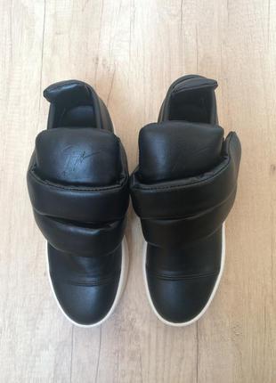 Кросовки слипоны сникерсы giuseppe zanotti
