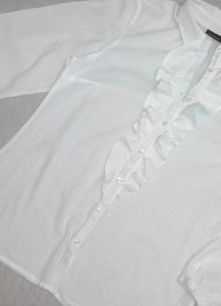 Блузка с рюшами-жабо kappahl