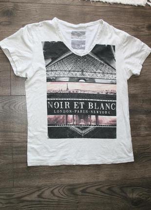 Брендовая футболка-бойфренд s/m