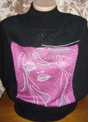 Роскошный свитер кофта безрукавка anna sui