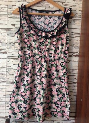 Симпатичное летнее платье dunnes