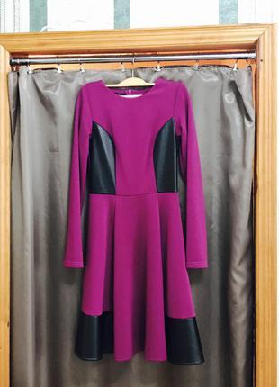 Малиновое платье от sk-house