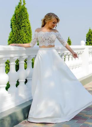 Продам свадебное платье оригинальное, молодежное