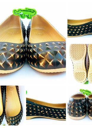 Гламурні crocs крокс w7 37 розміру 0156