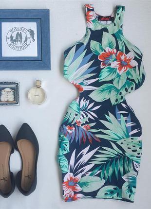 Міні сукня з вирізами від motel