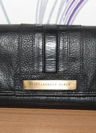 Кожаный кошелек betty jackson black debenhams