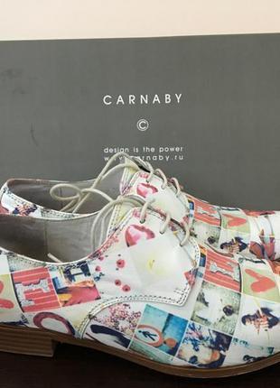Кожаные ботинки carnaby