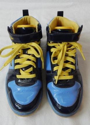 Патриотические кроссовки р-р 37-38, кеды мокасины