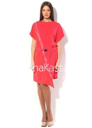 Ягодное платье от украинского дизайнера андре тана, р. s