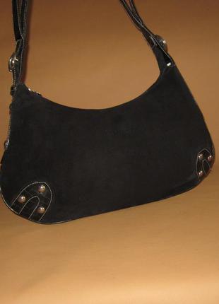 Стильная кожаная сумка английского дизайнера jimmy choo