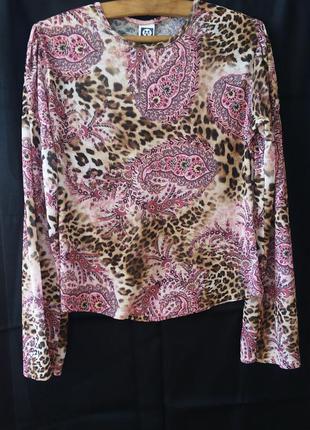 Кофточка блузка в яскравих кольорах