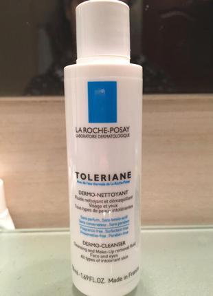 Молочко для снятия макияжа la roche posay toleriane