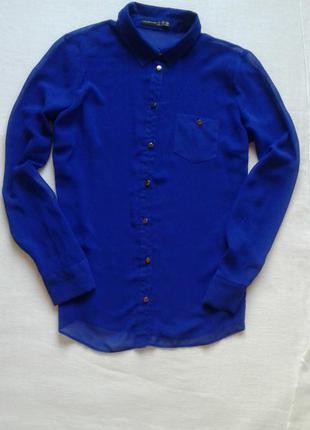 Стильная шифоновая блуза, рубашка от atmosphere