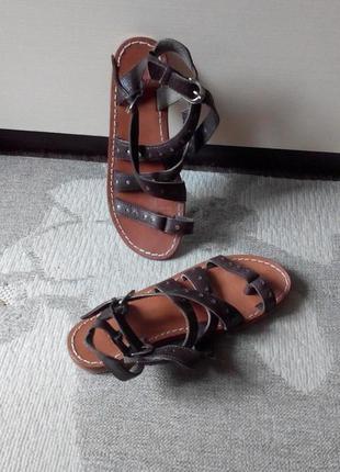 Кожаные сандалии  bronx