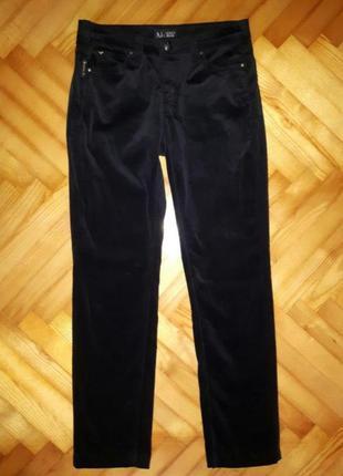 Велюровые джинсы от armani jeans! p.-27! оригинал!
