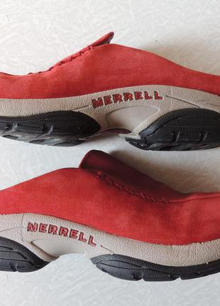 Merrell,германия,кожаные кроссовки без задника,сабо,размер 40,5