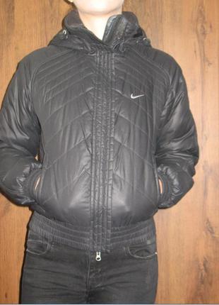Теплая куртка nike