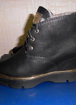 Продаю зимние женские ботинки modus vivendi, нат. кожа
