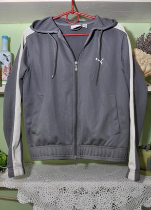 Спортивная кофта-куртка puma, р.s. оригинал