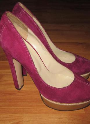 Замшевые туфли mascotte