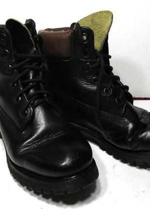 Ботинки кожаные timberland 35, 23.5 см, оригинал!