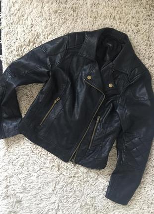 Sale стильная курточка кожанка косуха срочно