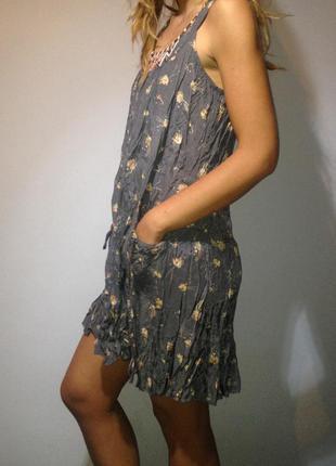 Легкий воздушный сарафан платье весна лето