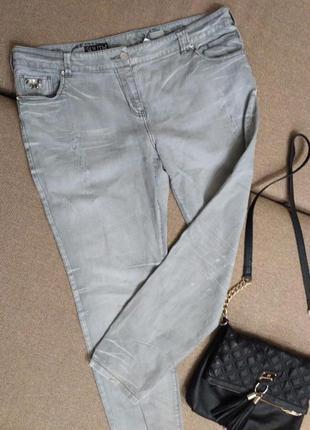 Летние джинсы большого размера