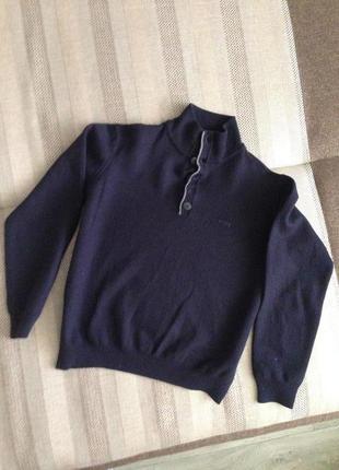 Мягусенький шерстяной кашемировый свитер armani, оригинал