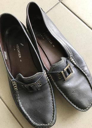Комфортные туфли hechter 6р. 39 25.5 -26 ст