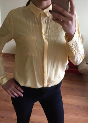 Жовта сорочка c&a here+there