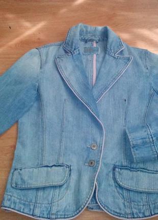 Джинсовый пиджак bay