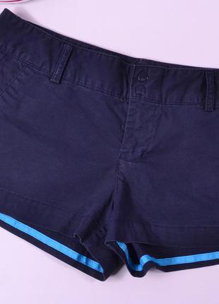 Короткие синие шорты с карманами, american eagle