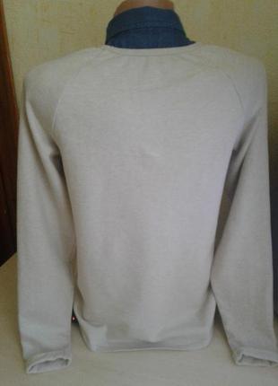 Рубашка с джинсовым воротником
