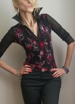 Borgofiori от valentino оригинальная брендовая рубашка для модниц
