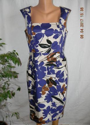 Платье с красивым принтом coast