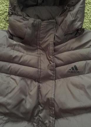 Спортивная женская зимняя курточка adidas