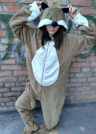 Пижама кигуруми cedarwood satre / размер l