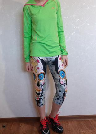 Спортивная футболка с длинным рукавом и капюшоном для бега pro touch dry plus