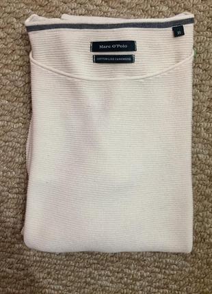 Кашемировый свитер ( marc o'polo)