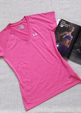 Женская футболка under armour heatgear