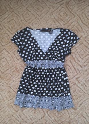 Красивая туника / футболка/ блуза котоновая allison brittney