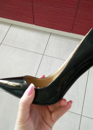 Туфли лодочки черные christian loubiutin