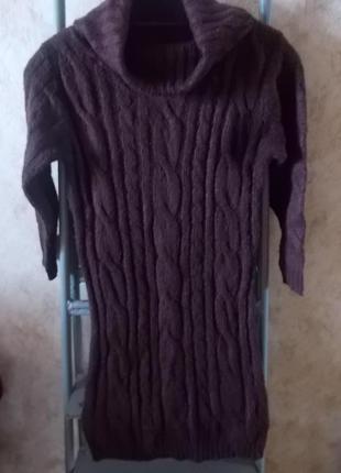 Длинный свитер-платье от atmosphere